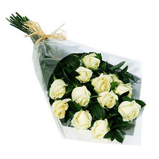 12 Τριαντάφυλλα - Λευκά 001105