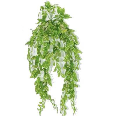 Τεχνητό κρεμαστό φυτό - Τηλέγραφος x 416 φύλλα 310430
