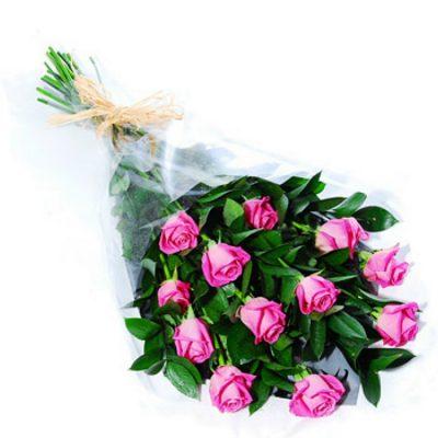 12 Τριαντάφυλλα - Ροζ 001102