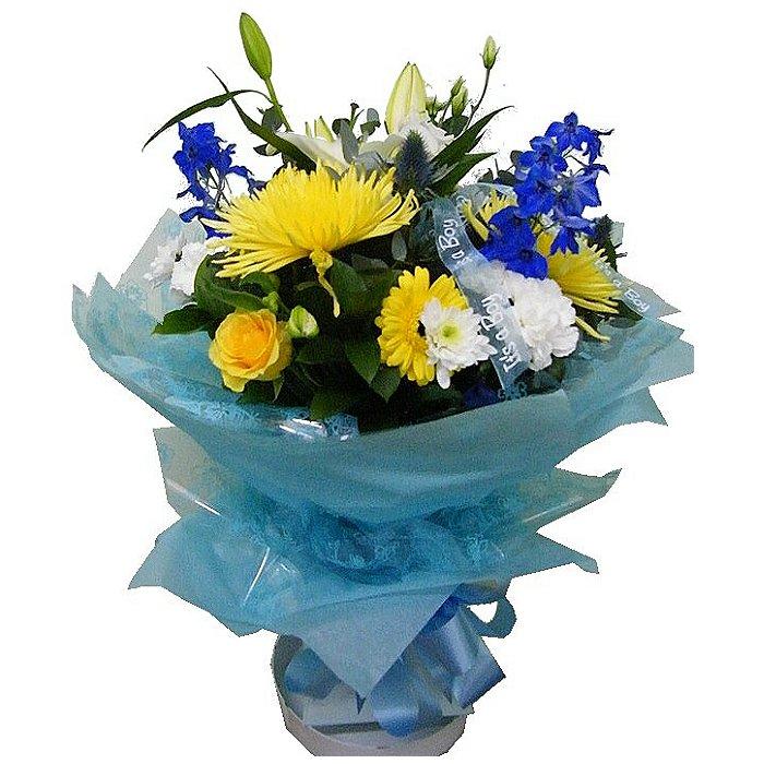 Μπουκέτο με φρέσκα λουλούδια 00333