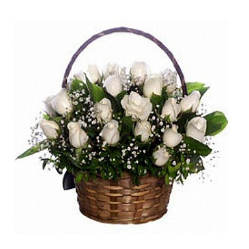Τριαντάφυλλα σε καλάθι 013