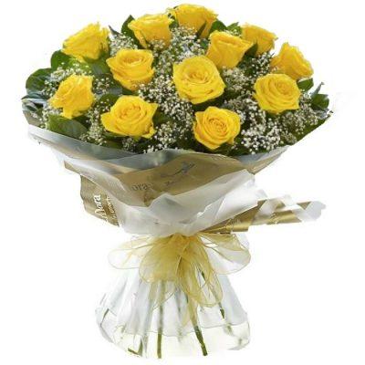 Τριαντάφυλλα σε μπουκέτο 001052