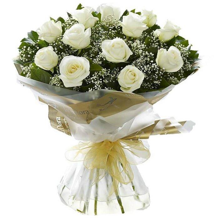 Τριαντάφυλλα σε μπουκέτο 001051