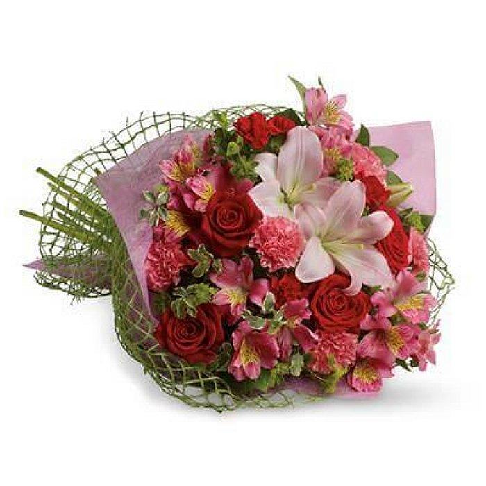 Ανθοδέσμη με φρέσκα λουλούδια 00417