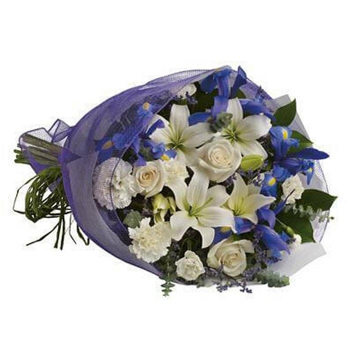 Ανθοδέσμη με φρέσκα λουλούδια 00418