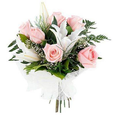 Μπουκέτο με φρέσκα λουλούδια 00213