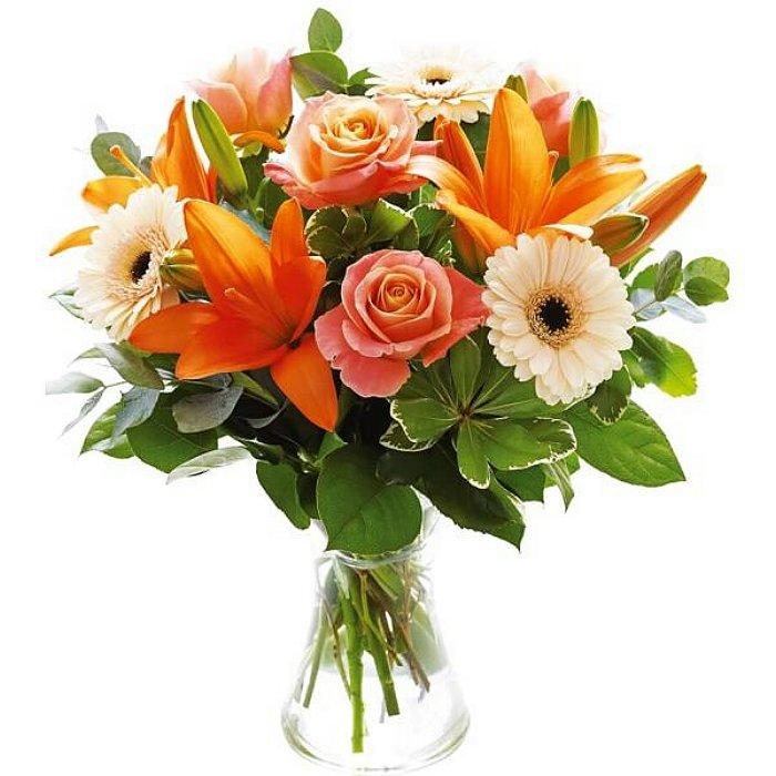 Μπουκέτο με φρέσκα λουλούδια 00215