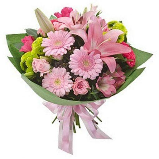 Μπουκέτο με φρέσκα λουλούδια 00111