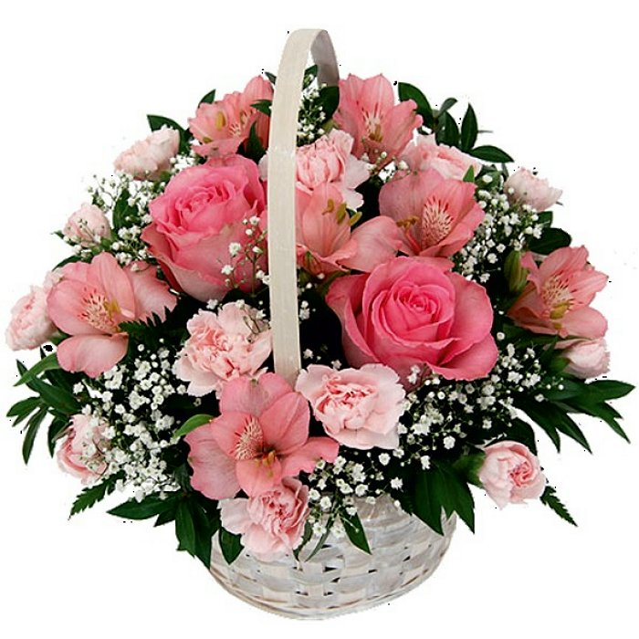 Σύνθεση με φρέσκα λουλούδια 00166