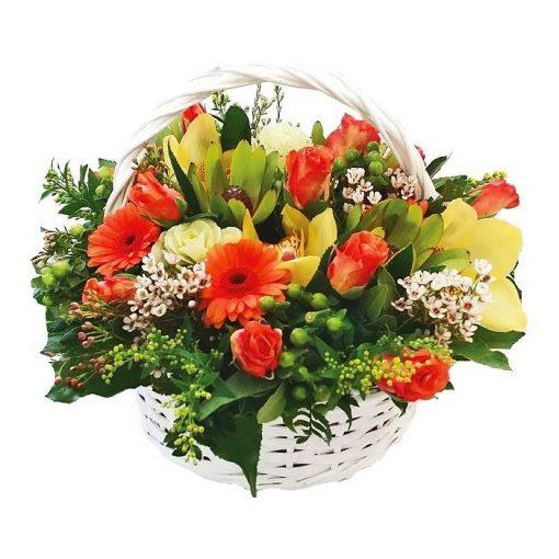 Σύνθεση με φρέσκα λουλούδια 00264