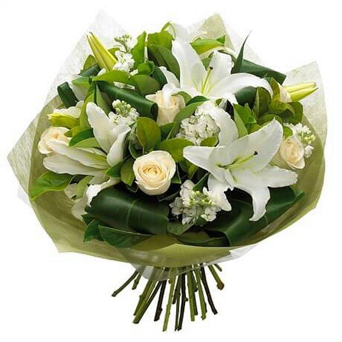 Μπουκέτο με φρέσκα λουλούδια 00335