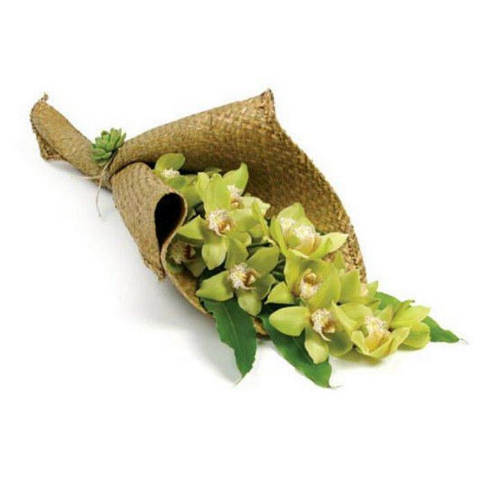 Ανθοδέσμη με φρέσκα λουλούδια Ορχιδέες 0703