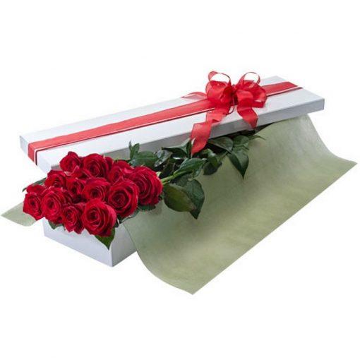 Τριαντάφυλλα σε κουτί 0023