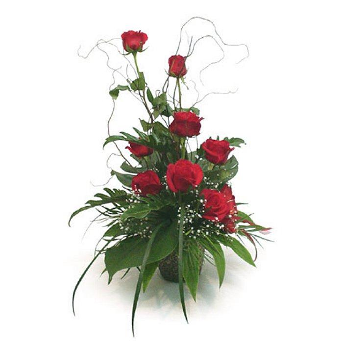 Σύνθεση με τριαντάφυλλα 001061