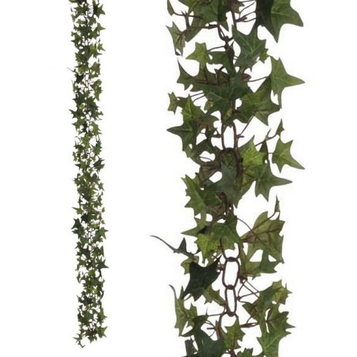 Artificial hanging plant garland - Ivy chain x 510 leaves 310550