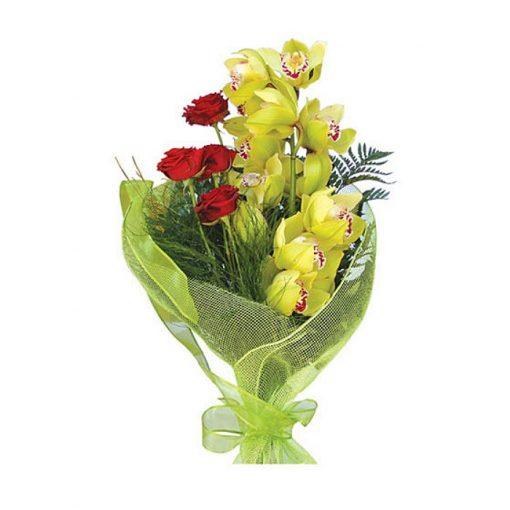 Ανθοδέσμη με φρέσκα λουλούδια 00416