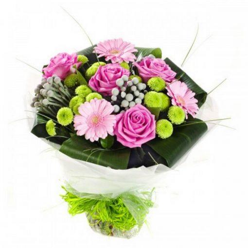 Μπουκέτο με φρέσκα λουλούδια 00210