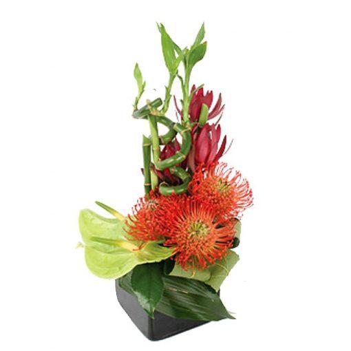 Σύνθεση με φρέσκα λουλούδια 00126