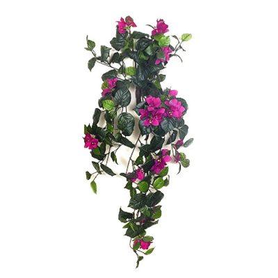 Τεχνητό κρεμαστό φυτό - Μπουκαμβίλια ροζ 310580