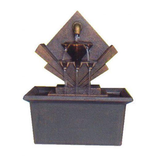 2404 Ηλεκτρικό επιτραπέζιο σιντριβάνι Καταρράκτης, πολυεστερικό