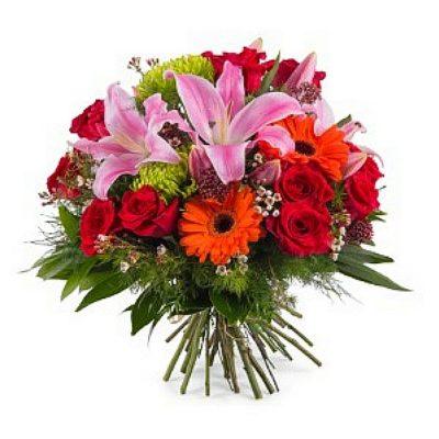 Μπουκέτο με φρέσκα λουλούδια 00352