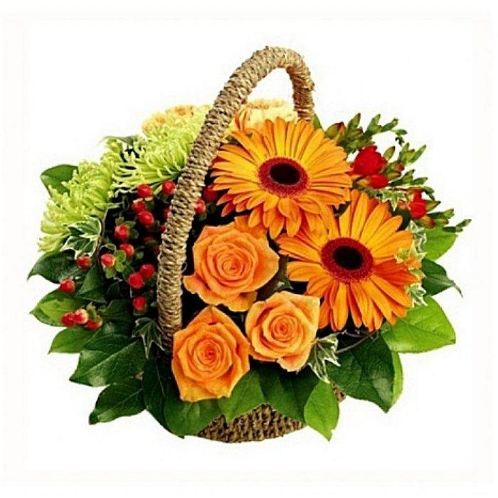 Σύνθεση με φρέσκα λουλούδια 00167