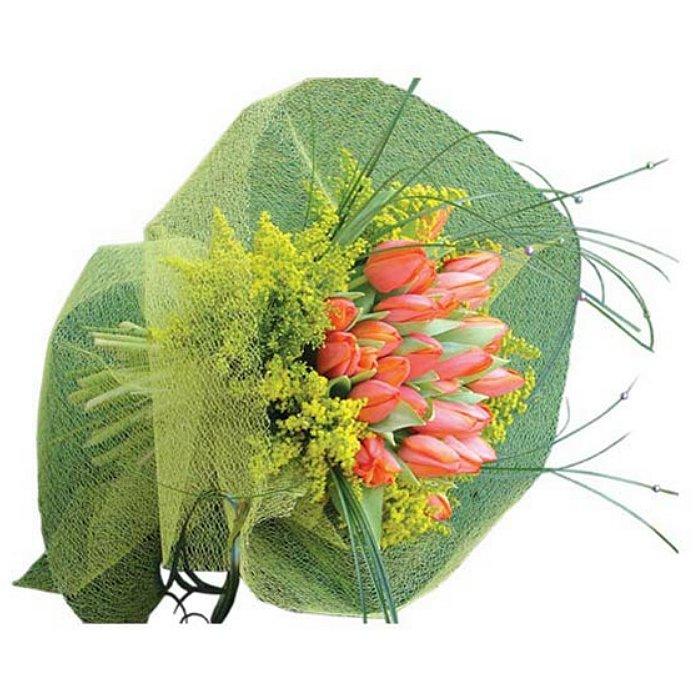Ανθοδέσμη με φρέσκα λουλούδια 00415