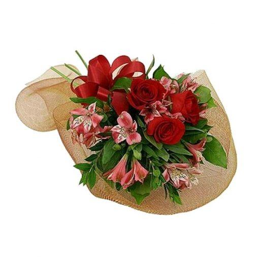 Ανθοδέσμη με φρέσκα λουλούδια 00414