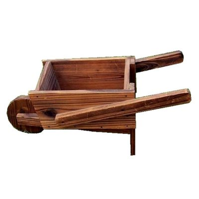 Decorative wooden garden wheelbarrows - WB 3