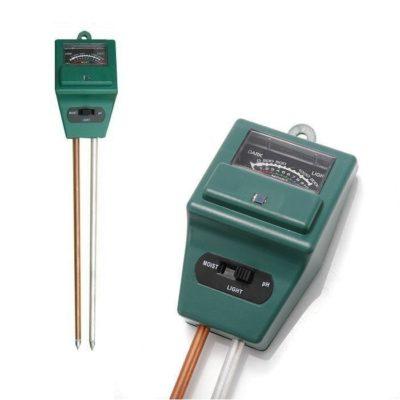 Hydrometer, PH meter, Light meter