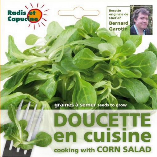 Edible Flowers Seeds - 026983 Corn Salad