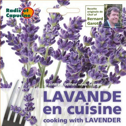 Σπόροι φαγώσιμων λουλουδιών - 026985 Λεβάντα
