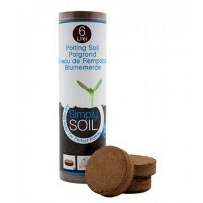 Simply Soil - Υπόστρωμα Κοκοφοίνικα (Δισκία)