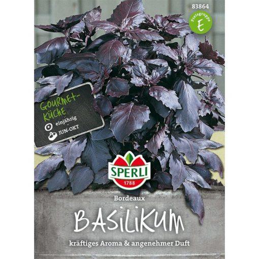83864 - Βασιλικός μπορντώ - Ocimun basilicum
