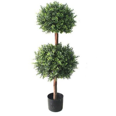 Artificial plant – Buxus topiary double 314100