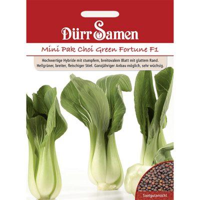 """DS0072 – Brassica rapa campestris Mini Pak Choi """"Fortune F1"""""""