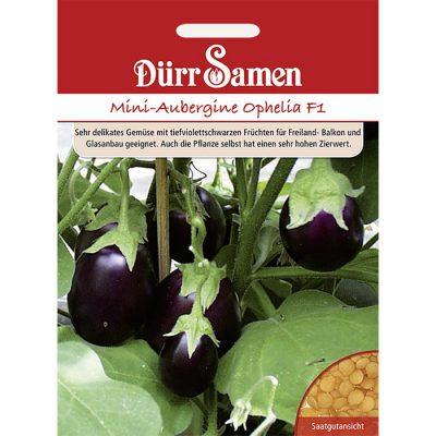 "DS1964 - Μελιτζανάκι - Solanum melongena ""Ophelia F1"""
