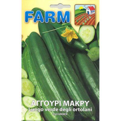 FARM 101 - ΑΓΓΟΥΡΙ ΜΑΚΡΥ – Cucumis sativus