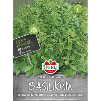83799 – Βασιλικός μπάλα ελληνικός – Ocimun basilicum