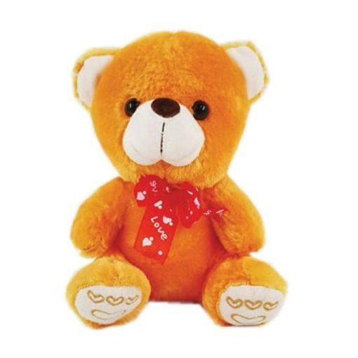 Αρκουδάκι λούτρινο Βαλεντίνου 23097