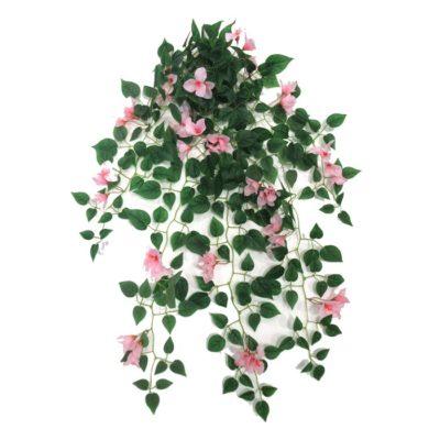 Τεχνητό κρεμαστό φυτό – Μπουκαμβίλια ροζ A22016/31500