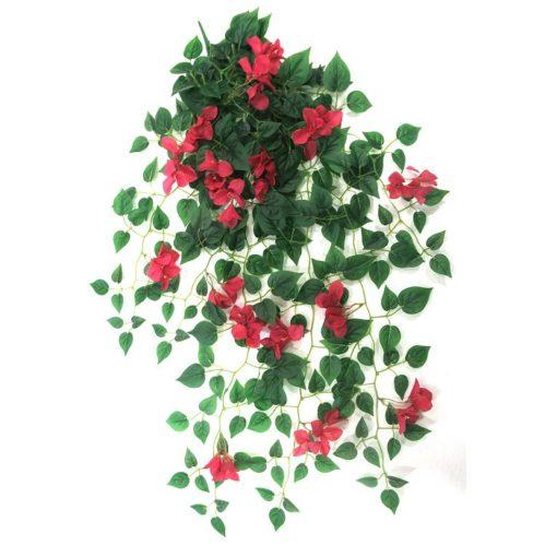 Τεχνητό κρεμαστό φυτό – Μπουκαμβίλια φουξ A22016/31500