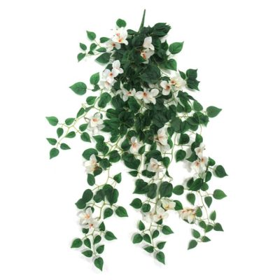 Artificial hanging plant – Bougainvillea white A22016/31500