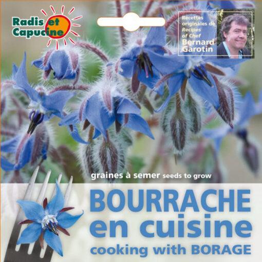 Σπόροι φαγώσιμων λουλουδιών – 026986 - Μποράντζα
