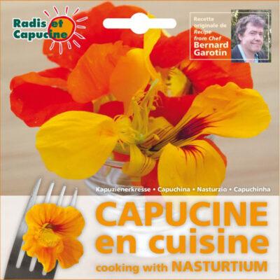 Σπόροι φαγώσιμων λουλουδιών – 026980 Τροπαίουλο - Καπουτσίνος