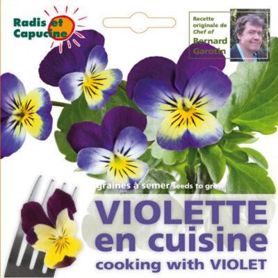 Σπόροι φαγώσιμων λουλουδιών – 026988 Βιόλα - Μενεξές