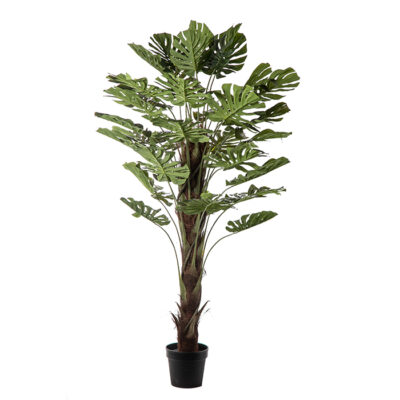 Artificial plant – Monstera with stick Α22161